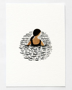 One in the Sea A5 Print