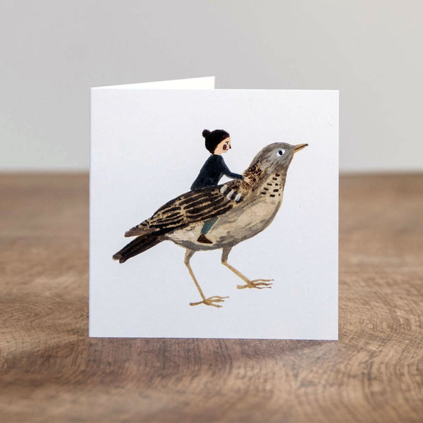 Bird Friend Card greeting card