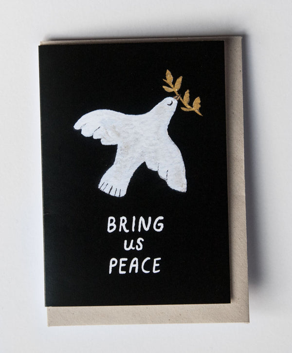 Bring Us Peace card