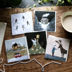 Winter Card set of 5