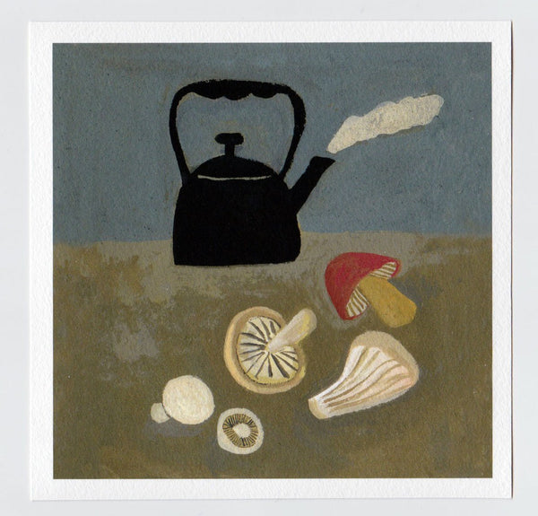 Foraged Supper 7X7 print