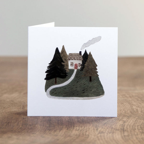 At Home in the Woods card