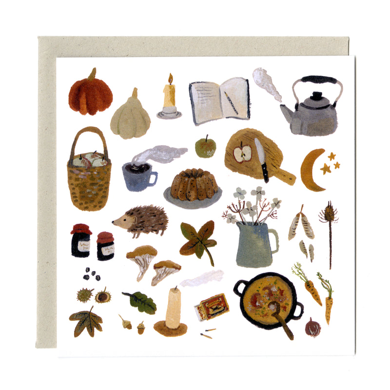 Autumn Treasures card