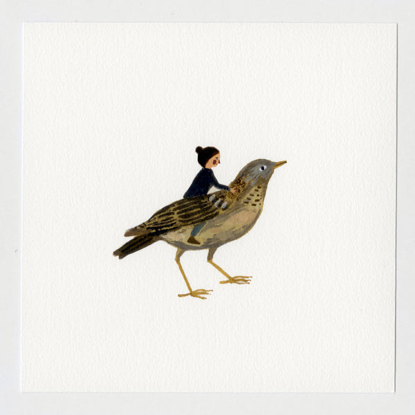 Bird Friend 7x7 Print