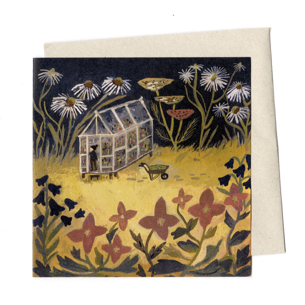 Down in the Garden card