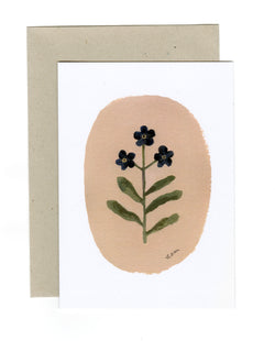 Forget-me-nots card