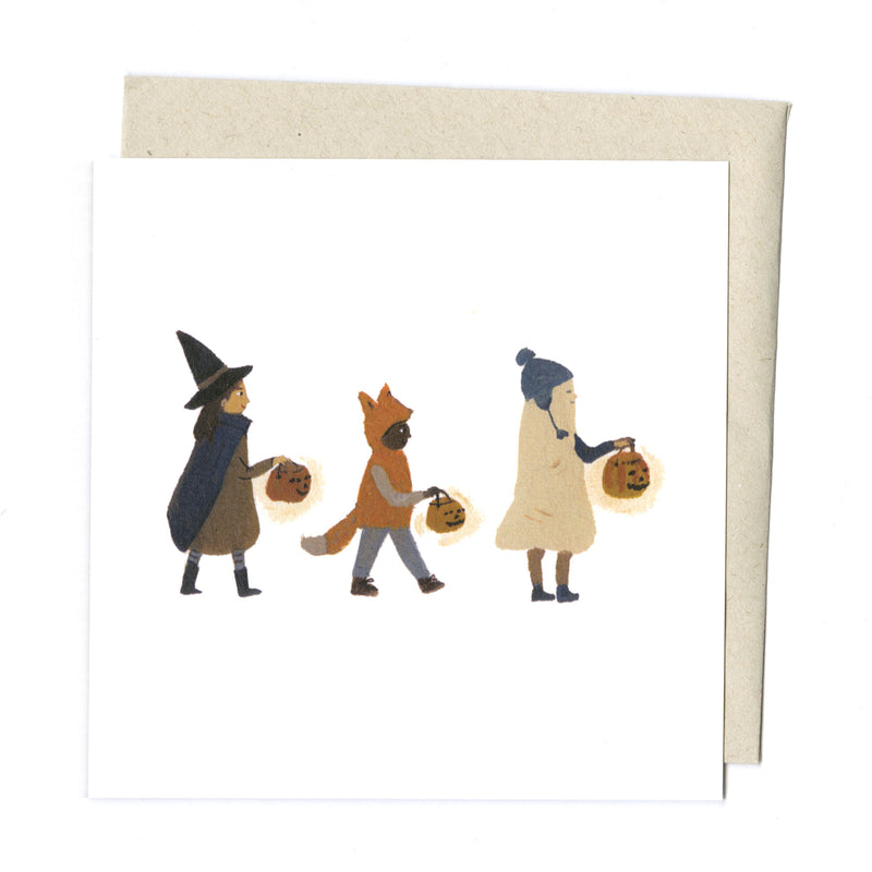 Halloween Friends card