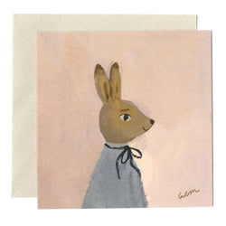 Hare in Spring card