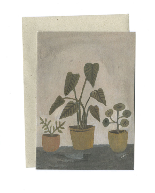 Houseplants a6 card
