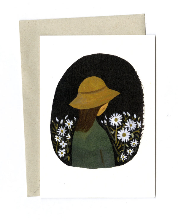 In the Garden card