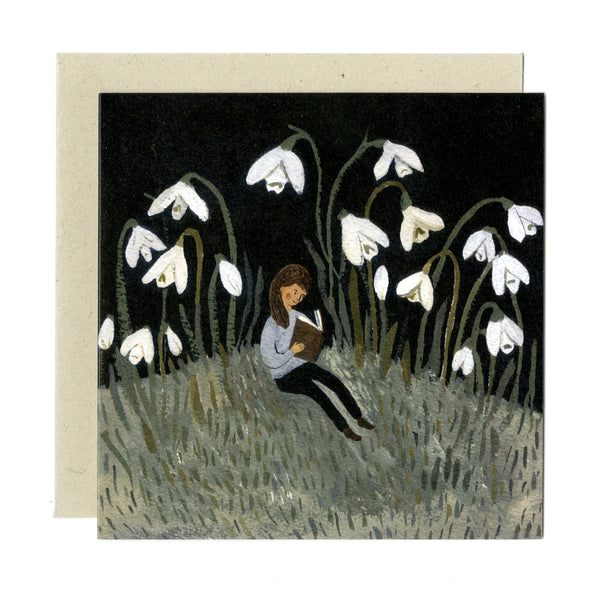 In the Snowdrops card