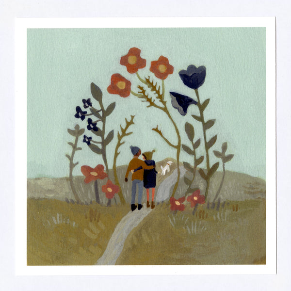Loves Path 7x7 Print
