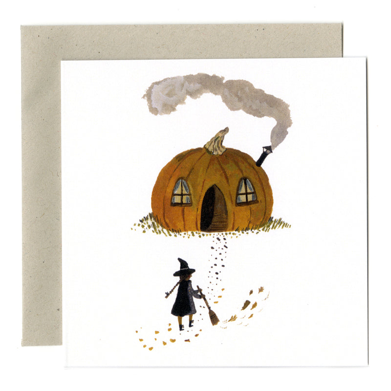 Pumpkin Cottage card