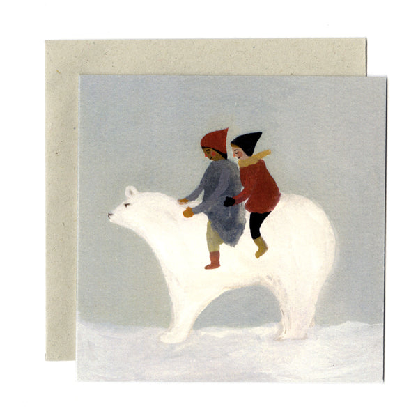 Snow Bear Card