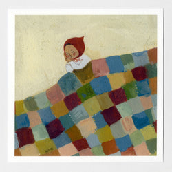 The Quilt 7x7 print