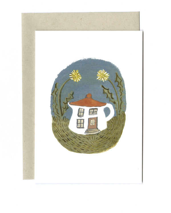 Tiny Teapot House card