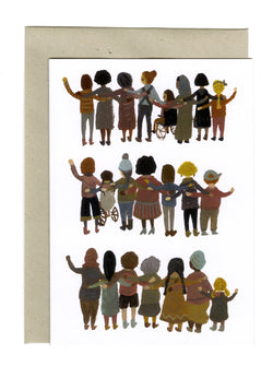 Unity, Solidarity, Strength card