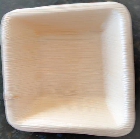 "SQUARE BOWL -  4""x4"" (20 COUNT PACK)"