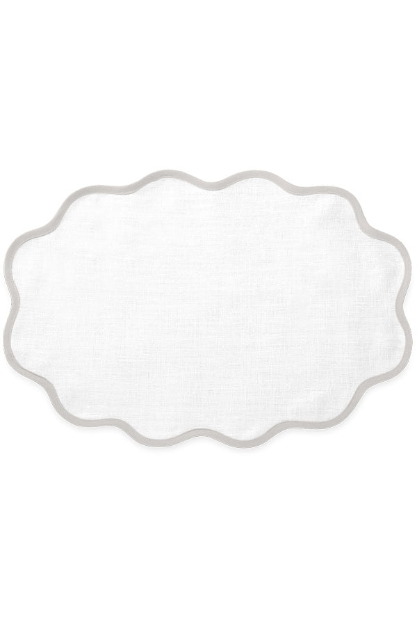 Scallop Casual Couture Placemat Set of 4