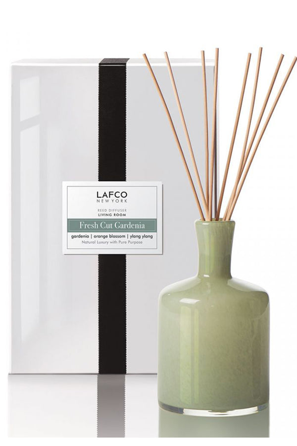 Lafco Fresh Cut Gardenia Signature Reed Diffuser 15.5oz
