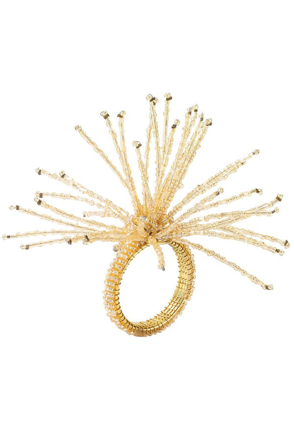 Spider Bead Burst Napkin Ring