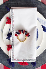 Kim Seybert Poppy Napkin Ring Gattle's