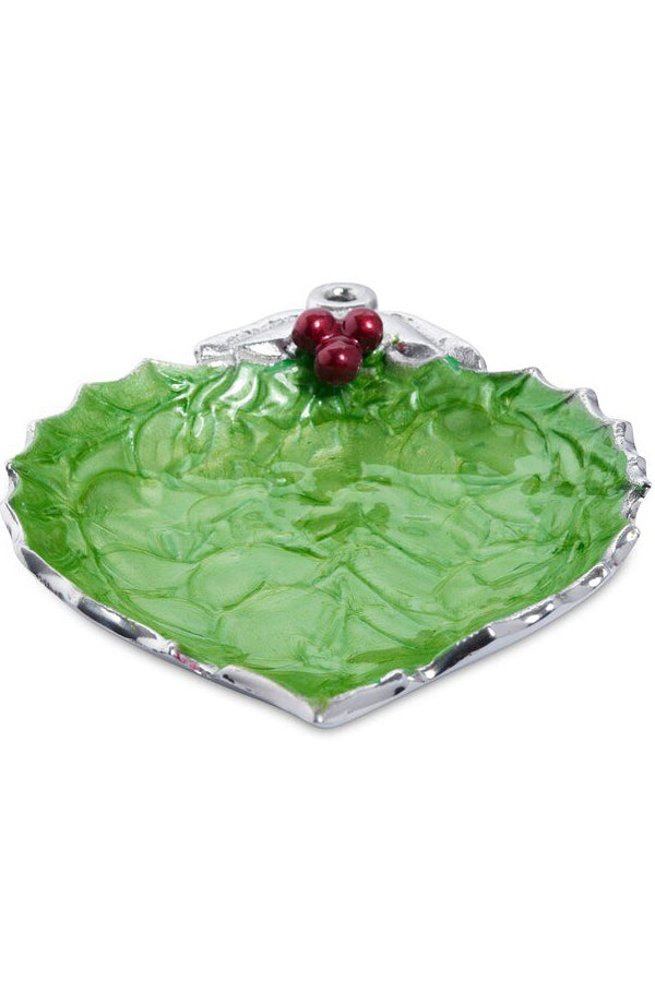"Holly Sprig 7"" Ornament Bowl Mojito"