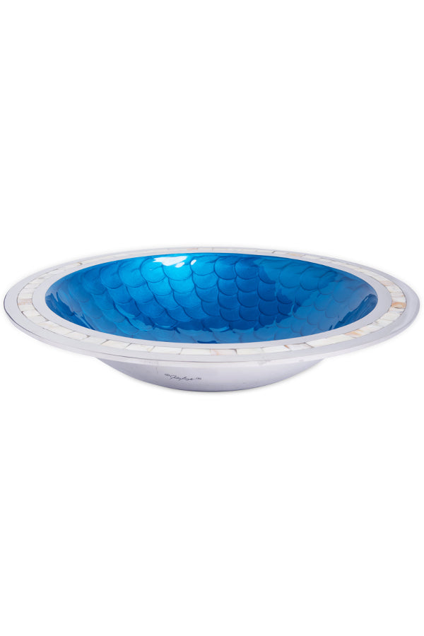 "Classic 15"" Round Bowl Teal"