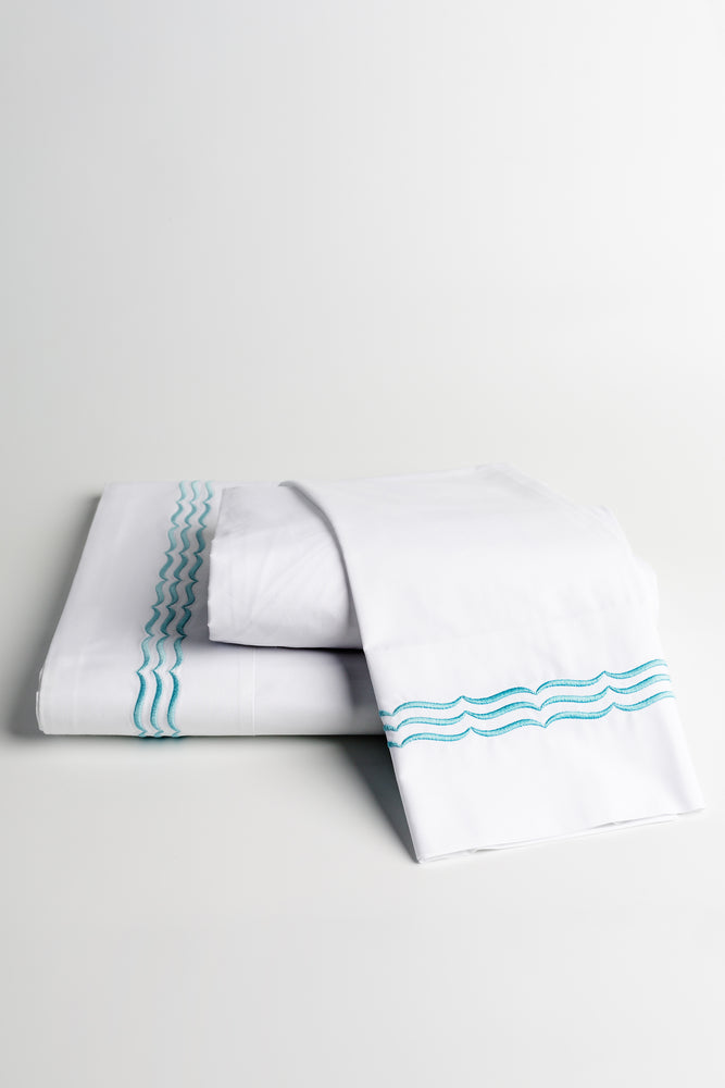 Waves 4 Piece Sheet Set