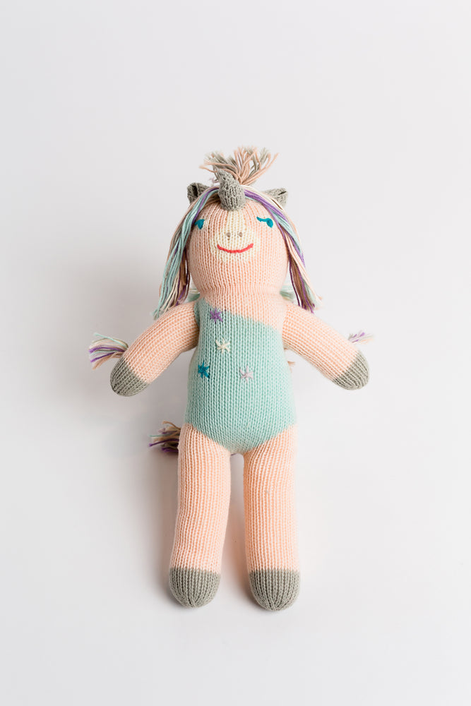 Confetti Mini Knit Doll