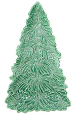 Lastra Holiday Figural Tree Small Platter