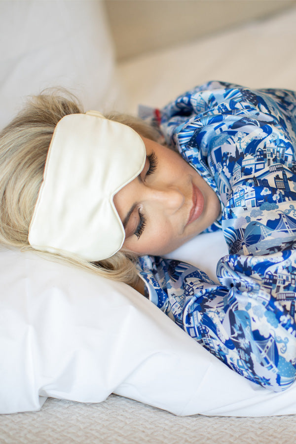 Branche Silk Eye Mask | Gattle's