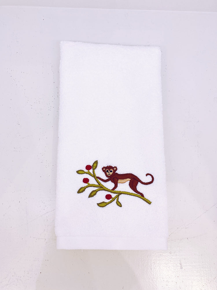Monkey Fingertip Towel