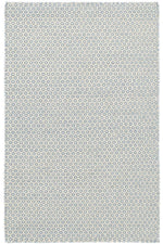 Honeycomb French Woven Wool Rug