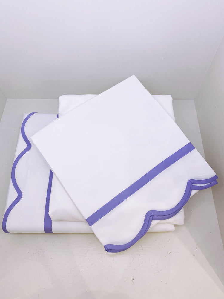 Elisabetta Scallop Sheet Set