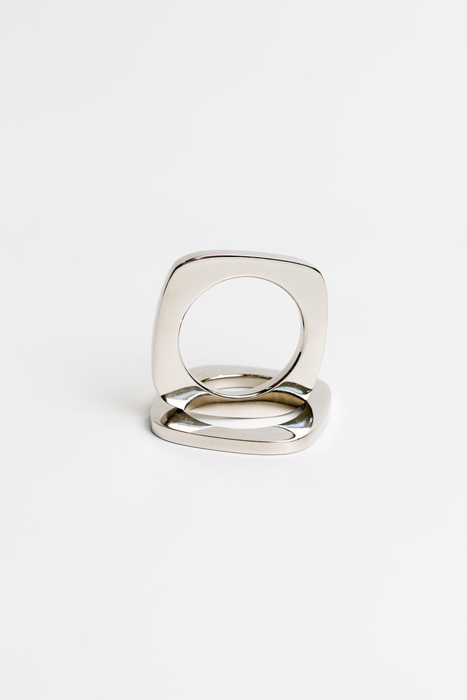 Square Pair Napkin Rings