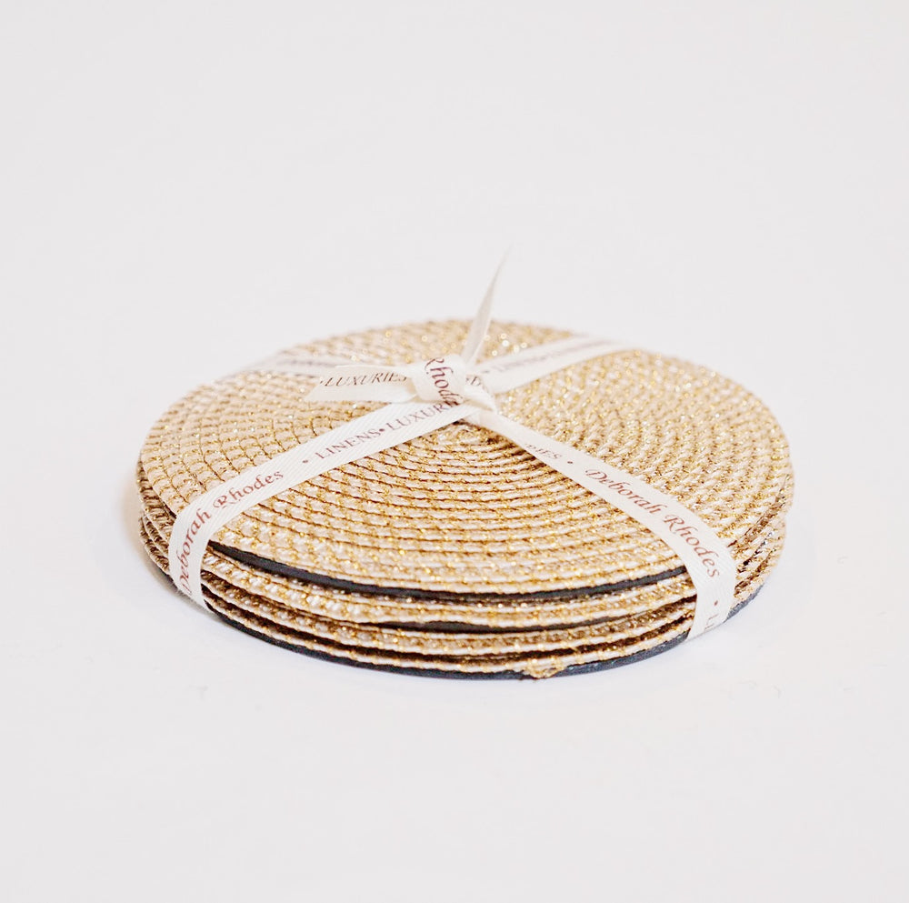 Gold Coaster Set