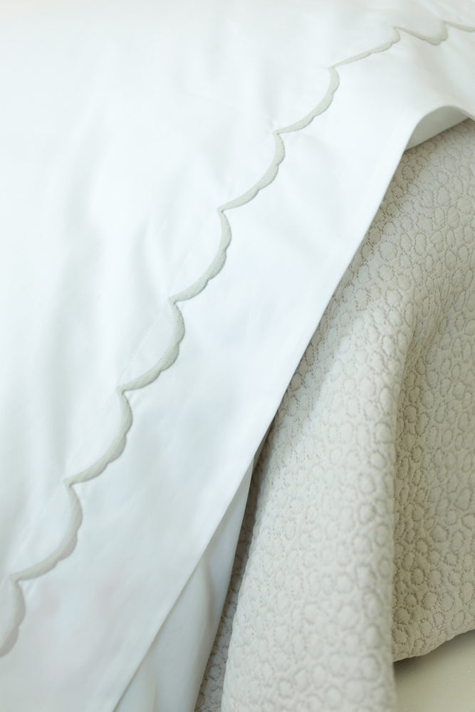 Scallop Duvet Cover