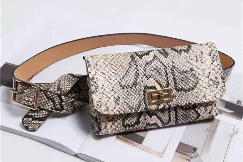 Belt Bag - Snakeskin