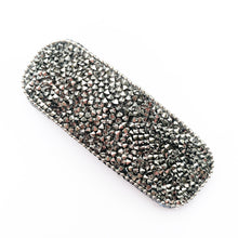 Load image into Gallery viewer, Crystal Hair Clip - Silver