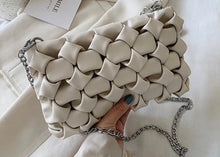 Load image into Gallery viewer, The Weave Bag - Winter White