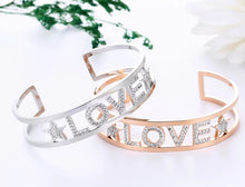 Load image into Gallery viewer, LOVE Bracelet - Silver & Gold