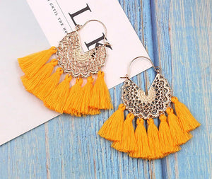 All About The Tassel Earrings - Satsuma