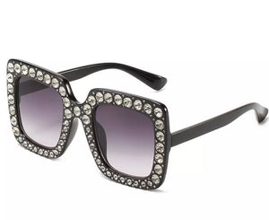 Just Sparkle Sunglasses - Available in Pink & Black