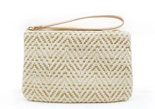 Load image into Gallery viewer, Mini Clutch - Gold/Cream
