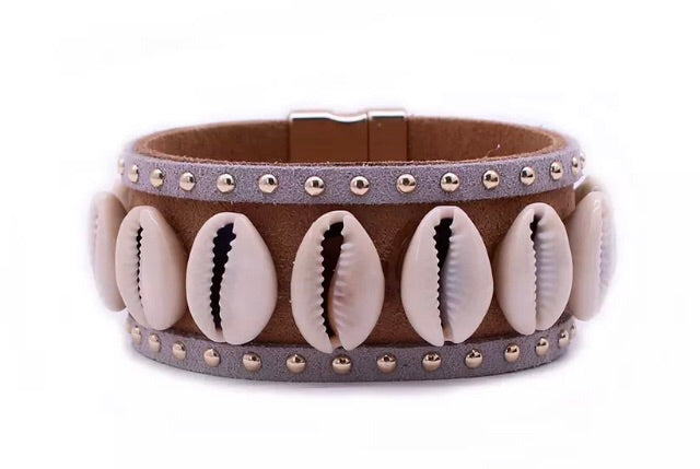 Cowrie Shell Cuff (Was £15 Now £9)