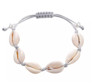 Cowrie Shell Bracelets Gold/Silver/Natural