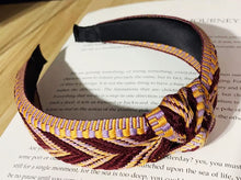 Load image into Gallery viewer, Woven Headband - Wine