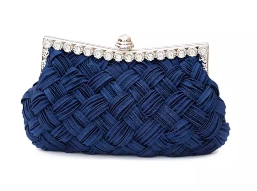 Textured Bag - Midnight Blue