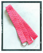 Load image into Gallery viewer, Woven Long Belt - Pink
